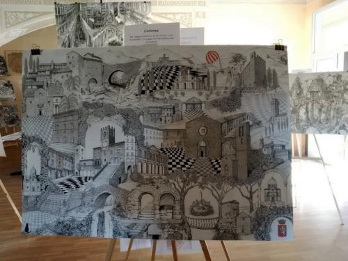 Le opere di Luigi Agnelli girano il mondo - Le foto di questa pagina: www.giornalesentire.it