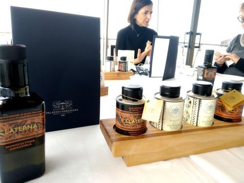 degustazioni di Olio Evo: CRU e Claterna, buoni e premiati