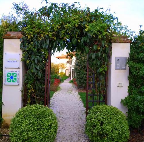 La villa è nel circuito dei Giardini Italiani