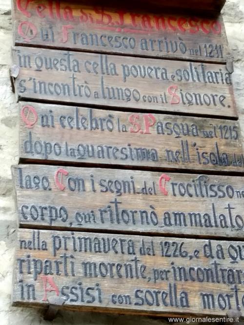 Breve storia del convento (foto cperer)