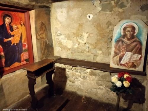 La cella di San Francesco (foto cperer)