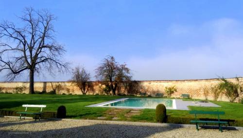 La piscina di Villa Berroni
