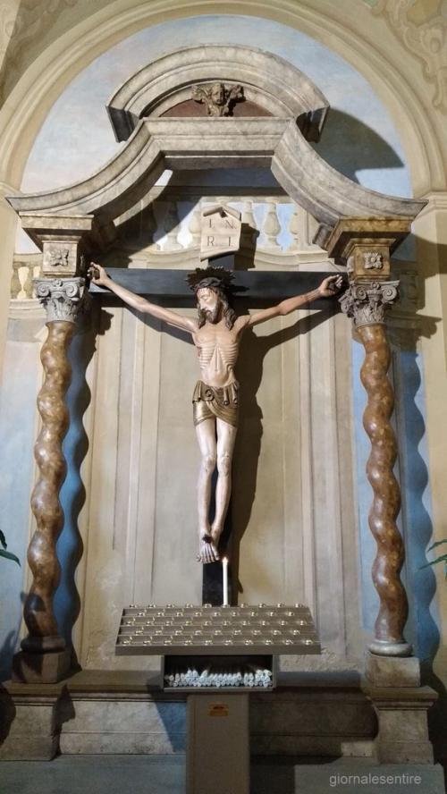 Il famoso crocifisso parlante (foto cperer)