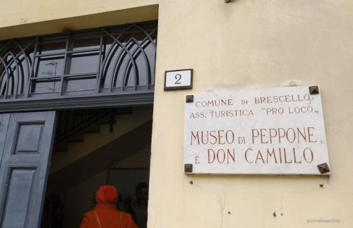 L'ingresso del Museo di Peppone e don Camillo (foto cperer)
