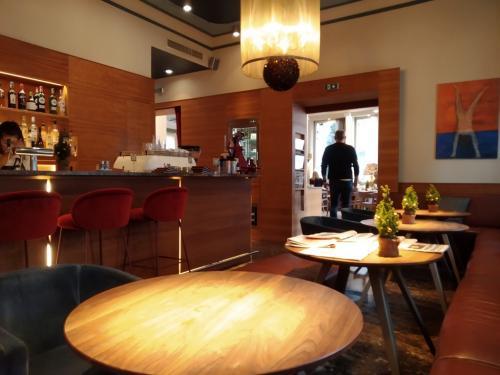La Lounge dell'Hotel Auersperg