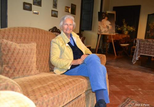 La proprietaria, Cristina Kettlitz, cura l'azienda e ha il merito di aver aperto il Castello al pubblico