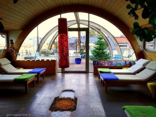 La City-Spa sul tetto dell'Hotel Auersperg