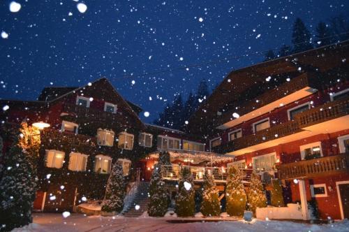 Una magica nevicata a Feldkirchen