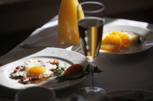 L'ottima colazione dell'hotel Nudelbacher di Feldkirchen