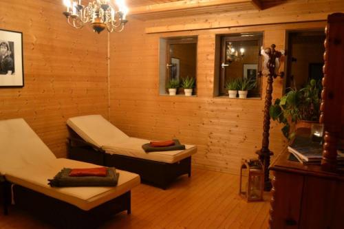 l'area relax dell'hotel Nudelbacher  di Feldkirchen