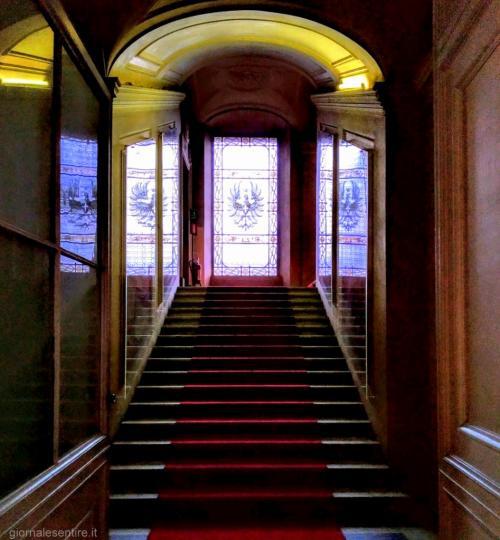 C'è anche il gusto del '900: Vittorio Emanuele III e la Regina Elena ammodernarono il castello