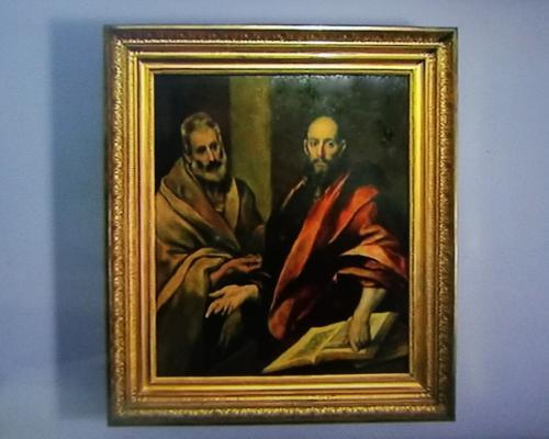 L'opera, emblematica dello stile ormai maturo del più grande autore della Spagna del XVI secolo, fino al 15 marzo 2020 resterà esposto nella Rhinoceros Gallery del seicentesco Palazzo Rhinoceros di Roma