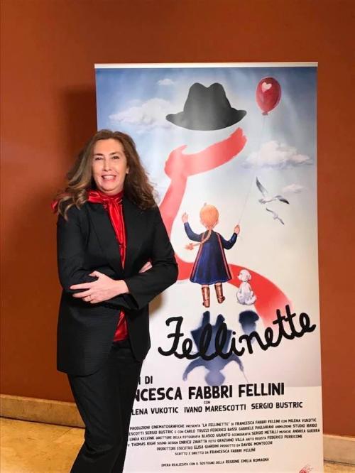 Francesca Fabbri Fellini (dal profilo FB dell'autrice)