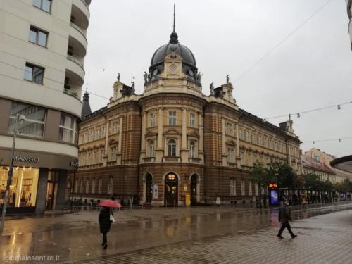 Città bella anche con la pioggia