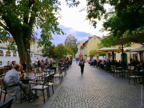 Lubiana è piena di localini e spazi per la ristorazione e l'incontro