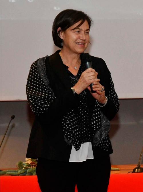 L'autrice di questo articolo, Fausta Slanzi. Giornalista, lavora all'Ufficio Stampa della Provincia Autonoma di Trento