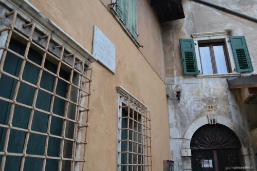 La casa natale di Zandonai a Sacco (foto C.Perer)