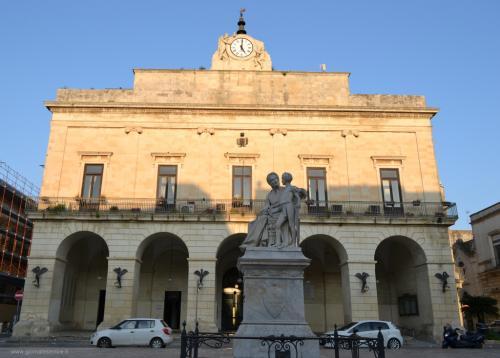Il Municipio di Maglie