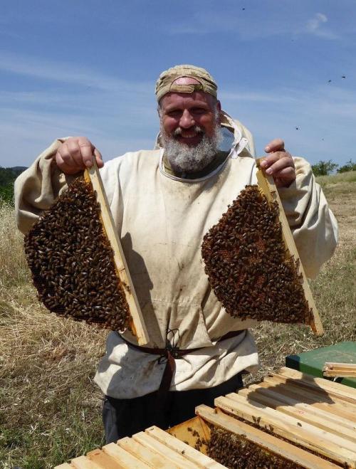 L'arte straordinaria di un apicoltore è anche...coraggio