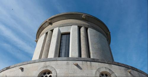 la cupola vista dall'alto (foto Zintek, Marghera)