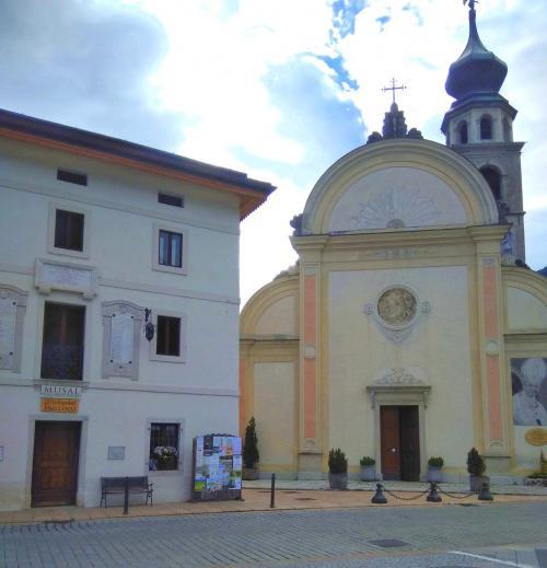 L'Arcipretale a Canale d'Agordo e il Musal, il Museo che ricorda il Papa e il suo magistero