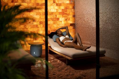 La spa dell'hotel, un lussuoso 5 stelle in stile ''lifestyle''