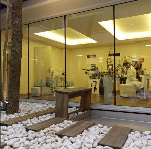 L'area wellness e spa dell'Hotel Là di Moret è molto frequentata dagli udinesi che la utilizzano come city spa
