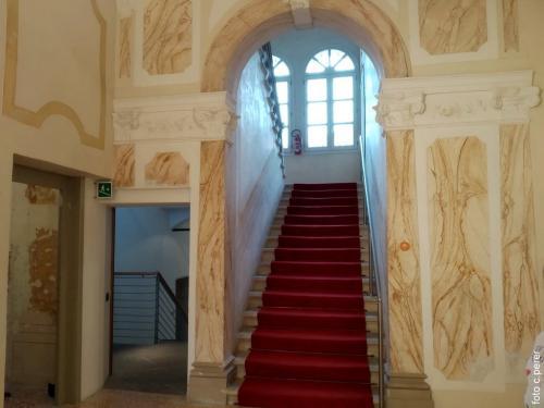 L'accesso al piano nobile
