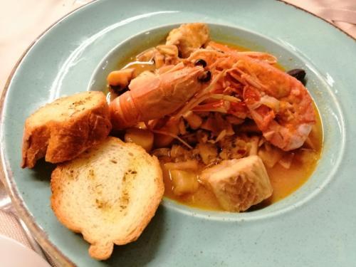 La zuppa di pesce di Bepi Sara