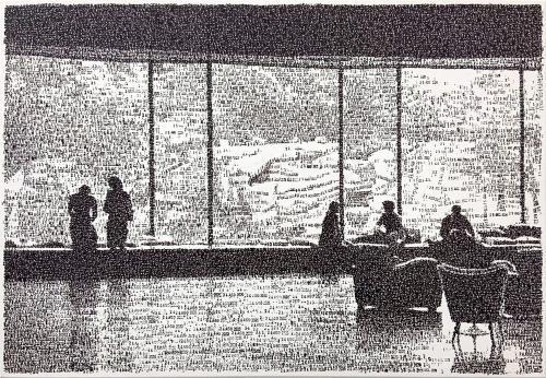 Titolo: ''Dal 22 al 25 Agosto 2020'',  courtesy the artist and Galerie Born Berlin