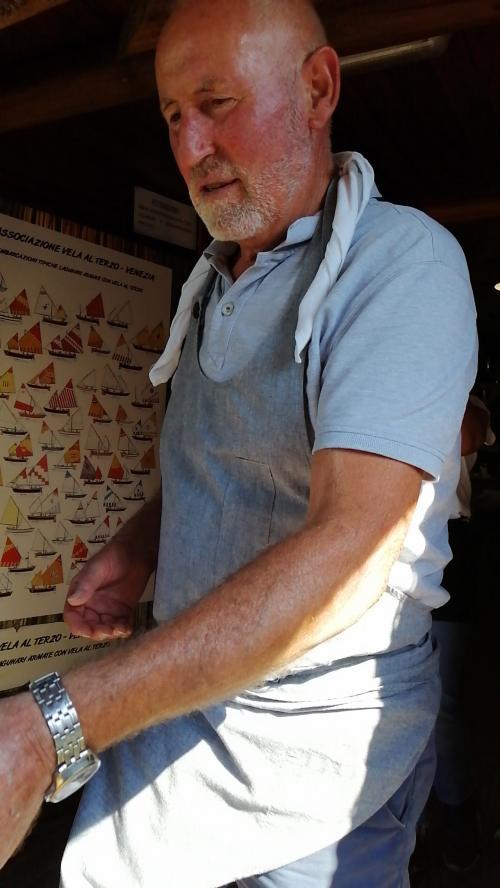 Mario Buffa titolare di Cason Grottolo
