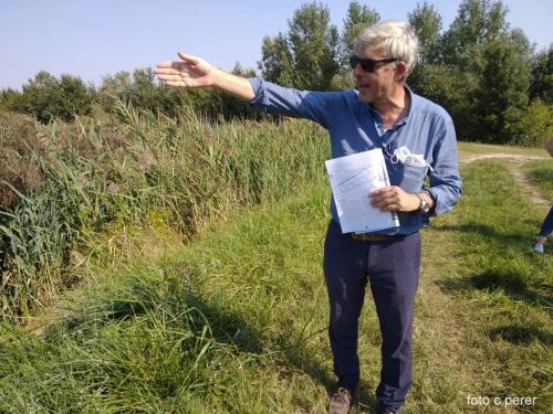 Il direttore dell'Azienda e coordinatore dei progetti dr. Lorenzo Furlan