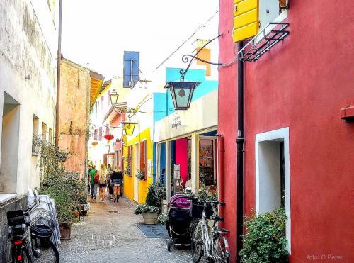Le pittoresche case dai colori vivaci
