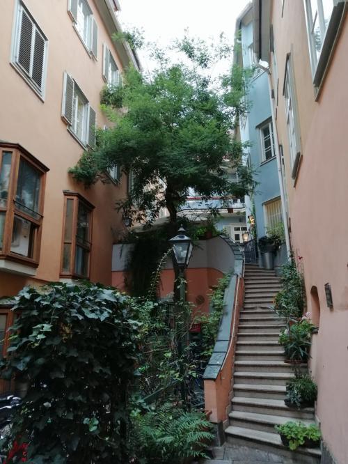 Uno dei deliziosi vicoli di Graz  - www.giornalesentire.it