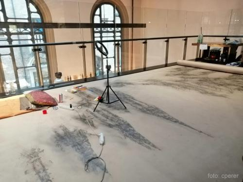 L'atelier di Mazzone al Mercato Coperto di Ravenna