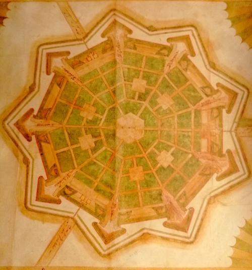 le mura di Palmanova: perfezione in architettura