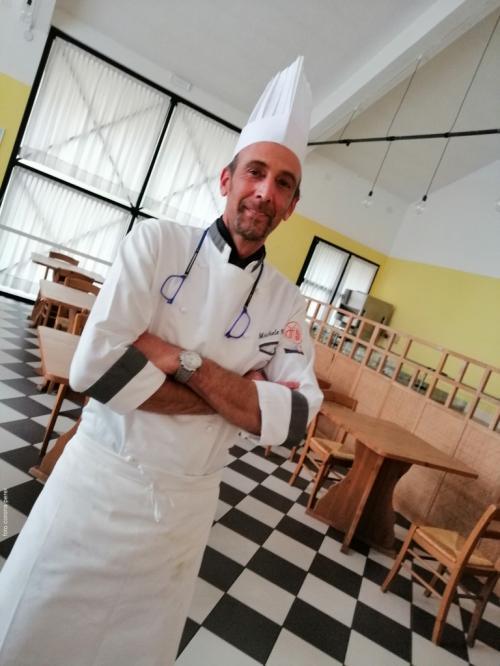 Lo chef Michele Beber