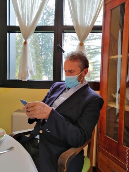 Il Preside, dr. Federico Samaden