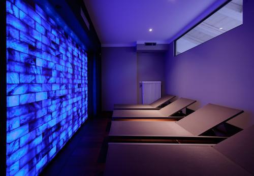 La stanza del sale nell'area wellness (accessibile solo in base alle normative Covid19)