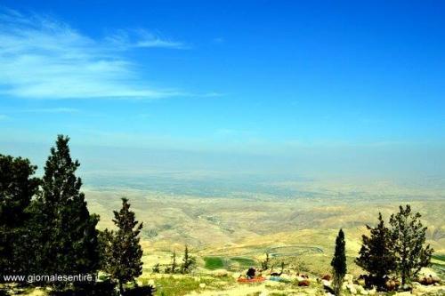 Veduta dal monte Nebo