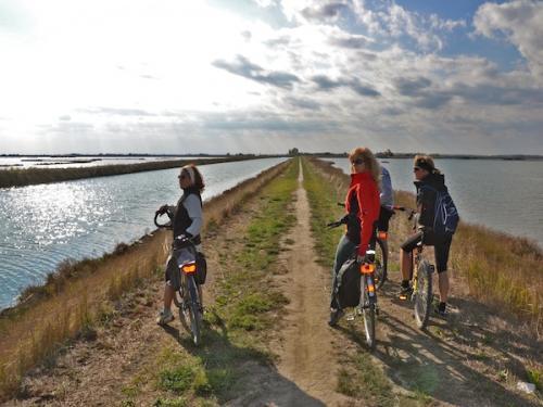Magnifico il delta del Po in bicicletta !