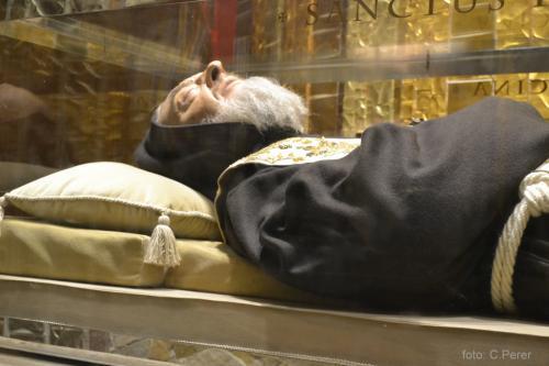 La teca del Santo (foto: C.Perer)