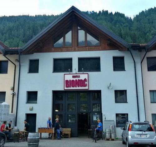 la sede del birrificio  a Mezzano in loc. Giare
