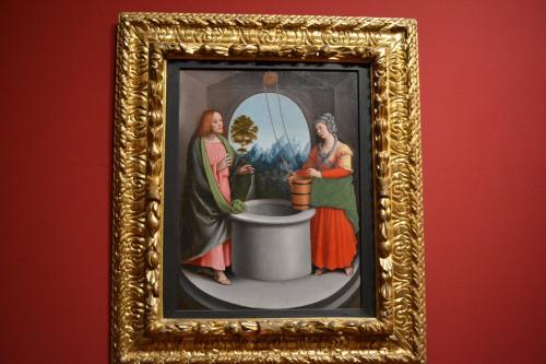 Urbino: Gaudenzio Ferrari, Cristo e la Samaritana
