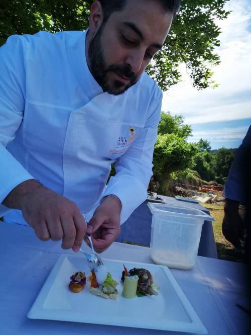 Chef di grande bravura e capacità tecnica (foto C.Perer)
