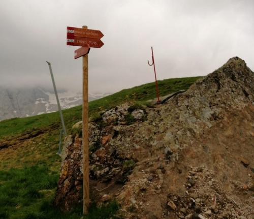 L'attacco del sentiero 638 (foto C.Perer)