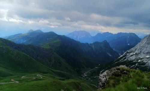 Il panorama dal Padon  (foto C.Perer)