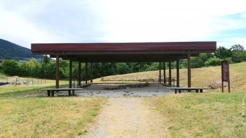 Tutta l'area è oggetto di investimenti  per mettere in sicurezza gli scavi (tutte le foto di questa pagina sono di C.Perer - riproduzione vietata)
