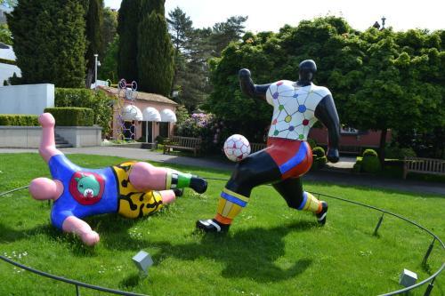 La gioia artistica di Niki de Saint Phalle - foto O.Galletti