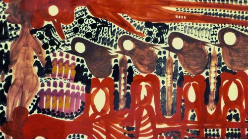 opere di Carlo Zinelli sono state esposte anche a New York
